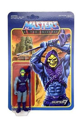 Imagen de Masters del Universo ReAction Figura Skeletor 10 cm