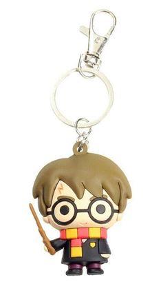 Picture of Harry Potter Llavero caucho Harry Potter 3D 7 cm