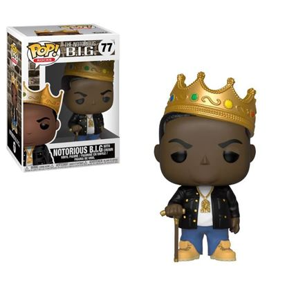 Picture of Notorious B.I.G. POP! Rocks Vinyl Figura Notorious B.I.G. (Corona) 9 cm