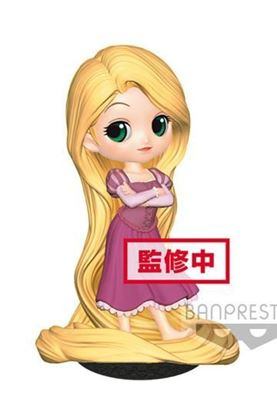 Picture of Figura Q Posket Rapunzel Girlish Charm (Normal Colour Version) 14 cm.