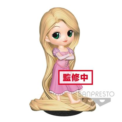 Picture of Figura Q Posket Rapunzel Girlish Charm (Pastel Colour Version) 14 cm.