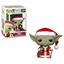 Picture of Star Wars POP! Vinyl Cabezón Holiday Navidad Santa Yoda 9 cm.
