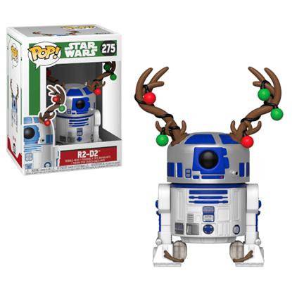 Picture of Star Wars POP! Vinyl Cabezón Navidad Holiday R2-D2 9 cm