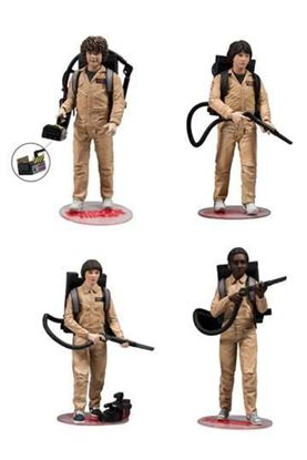 Picture of Stranger Things Pack de 4 Figuras Ghostbusters 15 cm