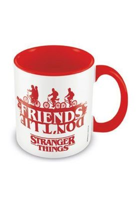 Picture of Stranger Things Taza Coloured Inner Friends Don't Lie