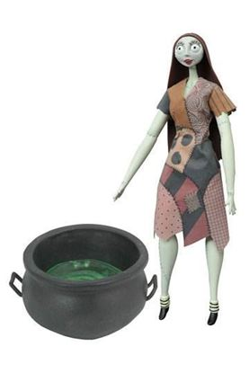 Picture of Pesadilla antes de Navidad Figura Cauldron Sally Deluxe Coffin Doll 36 cm