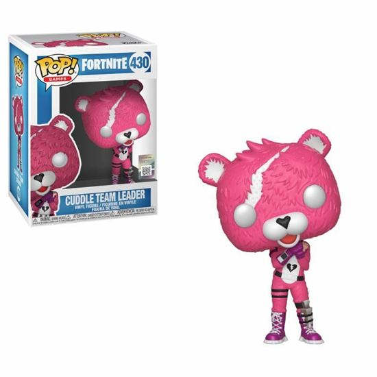Picture of Fortnite POP! Games Vinyl Figura Cuddle Team Leader 9 cm.