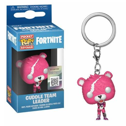 Picture of Fortnite Llavero Pocket POP! Vinyl Cuddle Team Leader 4 cm.