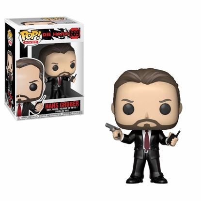 Picture of Jungla de cristal POP! Movies Vinyl Figura Hans Gruber 9 cm