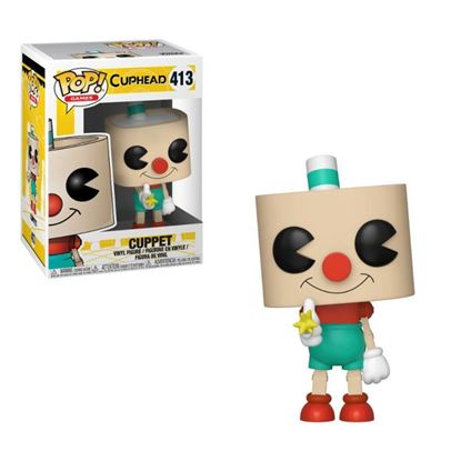 Picture of Cuphead Figura POP! Games Vinyl Cuppet 9 cm.
