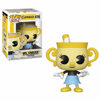 Picture of Cuphead Figura POP! Games Vinyl Ms. Chalice 9 cm.