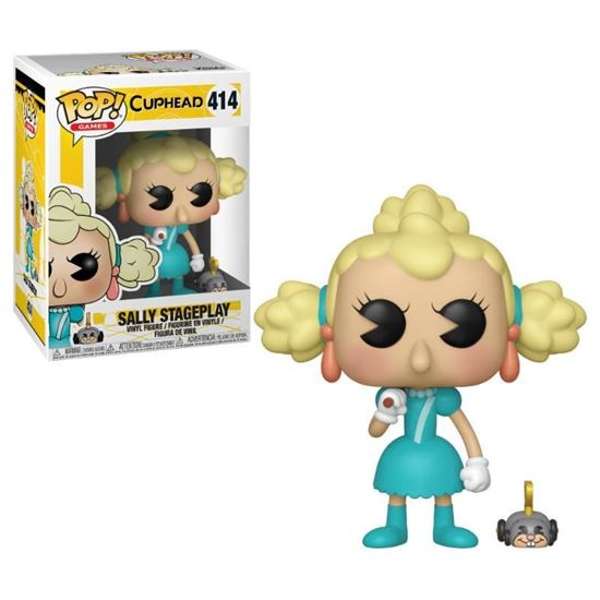 Picture of Cuphead Figura POP! Games Vinyl Sally Stageplay 9 cm.