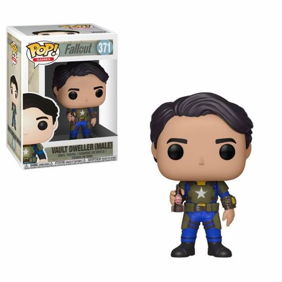 Picture of Fallout POP! Games Vinyl Figura Vault Dweller Male 9 cm