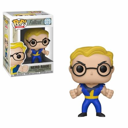 Picture of Fallout POP! Games Vinyl Figura Vault Boy (Nerd Rage) 9 cm.