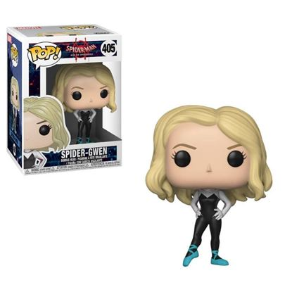 Imagen de Spider-Man Animated POP! Marvel Vinyl Figura Spider-Gwen 9 cm