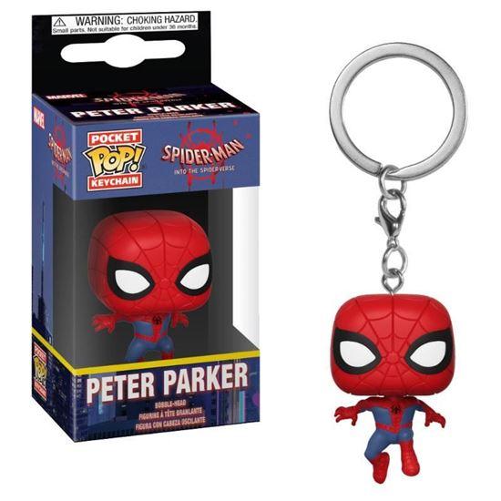 Picture of Spider-Man Animated Llavero Pocket POP! Vinyl Spider-Man 4 cm.