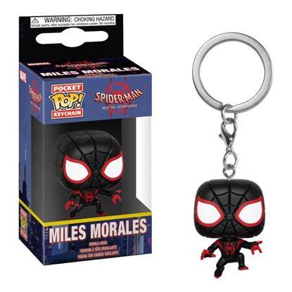 Picture of Spider-Man Animated Llavero Pocket POP! Vinyl Spider-Man Miles 4 cm
