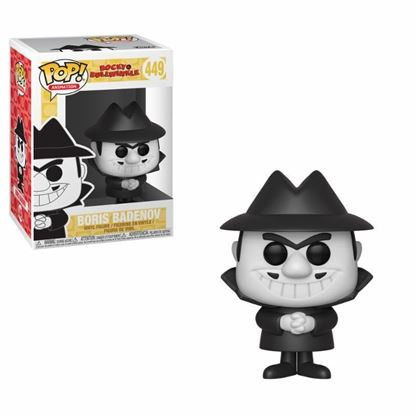 Picture of Las aventuras de Rocky y Bullwinkle Figura POP! Movies Vinyl Boris 9 cm. DISPONIBLE APROX: ENERO 2019