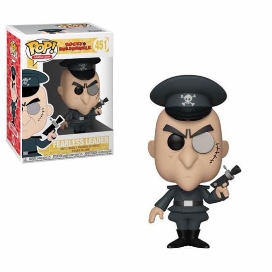 Picture of Las aventuras de Rocky y Bullwinkle Figura POP! Movies Vinyl Fearless Leader 9 cm. DISPONIBLE APROX: ENERO 2019