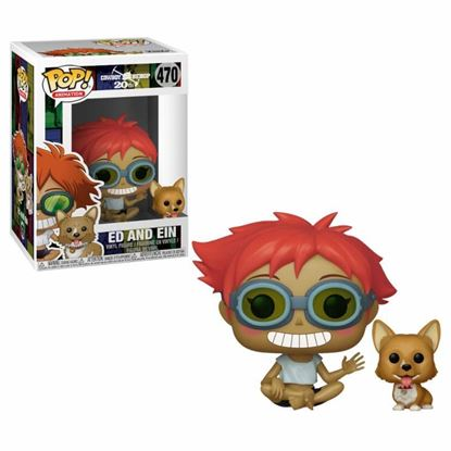 Picture of Cowboy Bebop POP! Animation Vinyl Figura Edward & Ein 9 cm