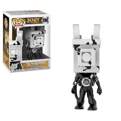 Picture of Bendy and the Ink Machine POP! Games Vinyl Figura The Projectionist 9 cm.