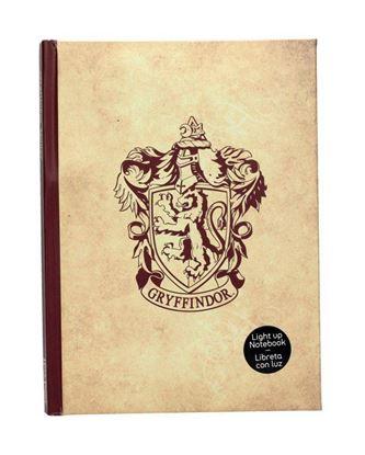 Picture of Cuaderno con Luz Gryffindor - Harry Potter