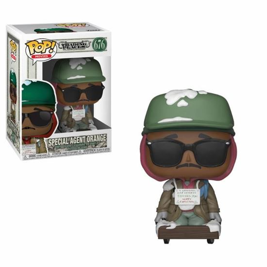 Foto de Trading Places Figura POP! Movies Vinyl Billy Ray on Cart 9 cm. DISPONIBLE APROX: FEBRERO 2019