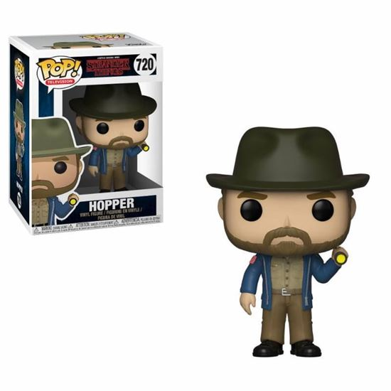 Picture of Stranger Things POP! TV Vinyl Figura Hopper & Flashlight 9 cm