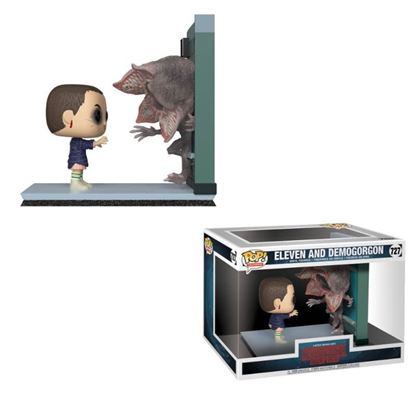 Picture of Stranger Things Pack de 2 POP! Movie Moments Vinyl Figuras Eleven & Demogorgon 9 cm.