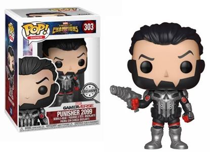 Picture of Marvel Contest of Champions POP! Games Vinyl Figura Punisher 2099 9 cm