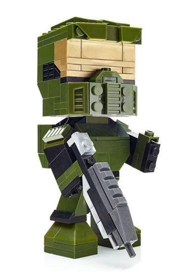 Picture of Halo Kubros Kit de Construcción Master Chief 14 cm