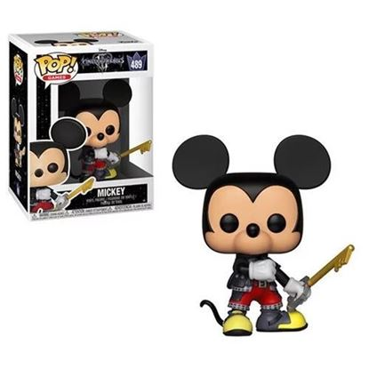 Picture of Kingdom Hearts 3 POP! Disney Vinyl Figura Mickey 9 cm.