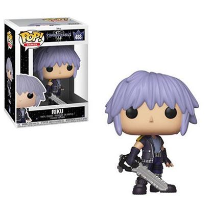 Picture of Kingdom Hearts 3 POP! Disney Vinyl Figura Riku 9 cm.