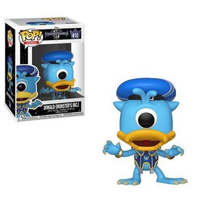 Picture of Kingdom Hearts 3 POP! Disney Vinyl Figura Donald (Monsters Inc.) 9 cm.