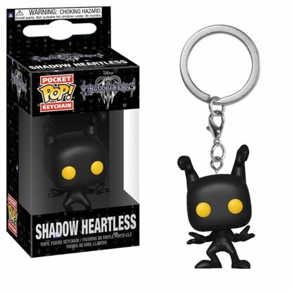 Picture of Kingdom Hearts 3 Llavero Pocket POP! Vinyl Shadow Heartless 4 cm.