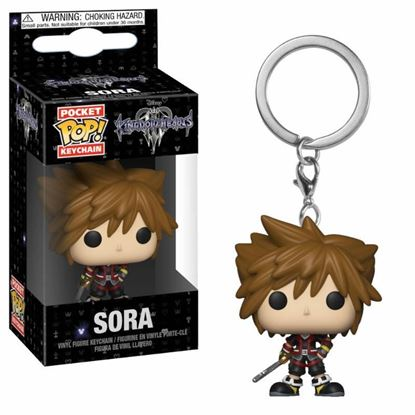 Picture of Kingdom Hearts 3 Llavero Pocket POP! Vinyl Sora 4 cm.