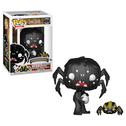 Picture of Don't Starve Figura POP! Games Vinyl Weber & Spider 9 cm