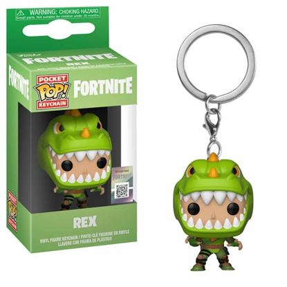Picture of Fortnite Llavero Pocket POP! Vinyl Rex 4 cm DISPONIBLE APROX: FEBRERO 2019