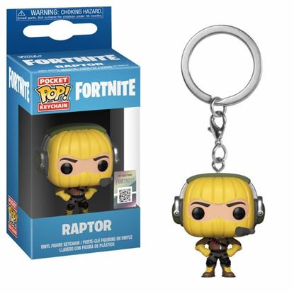 Picture of Fortnite Llavero Pocket POP! Vinyl Raptor 4 cm