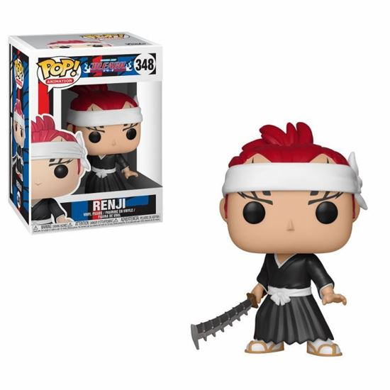 Picture of Bleach POP! Animation Vinyl Figura Renji 9 cm.