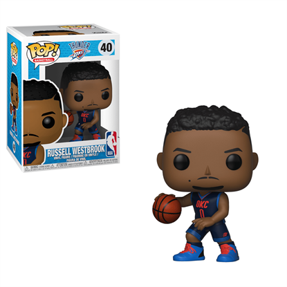 Picture of NBA POP! Sports Vinyl Figura Russell Westbrook (Thunder) 9 cm.