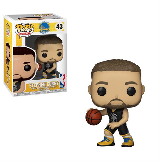 Picture of NBA POP! Sports Vinyl Figura Stephen Curry (Warriors) 9 cm.