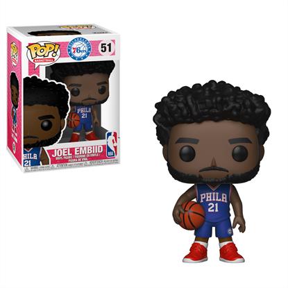Picture of NBA POP! Sports Vinyl Figura Joel Embiid (76ers) 9 cm