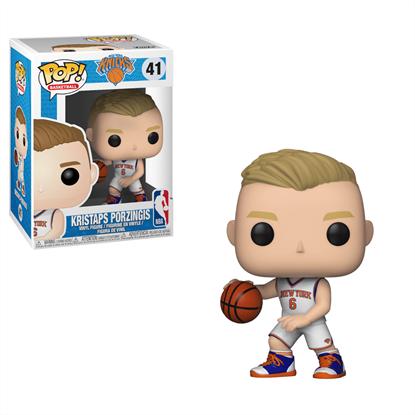 Picture of NBA POP! Sports Vinyl Figura Kristaps Porzingis (Knicks) 9 cm.