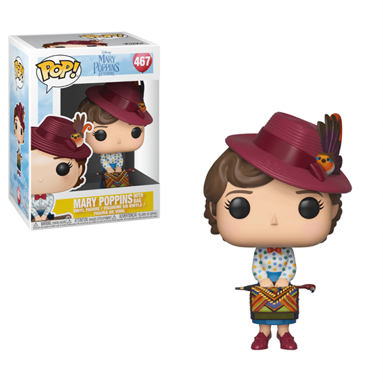 Picture of Mary Poppins 2018 POP! Disney Vinyl Figura Mary with Bag 9 cm.