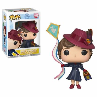 Picture of Mary Poppins 2018 POP! Disney Vinyl Figura Mary with Kite 9 cm.