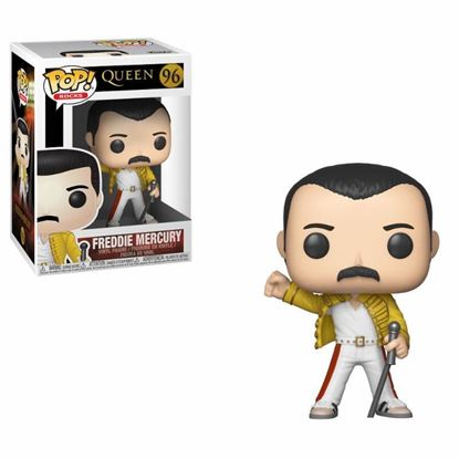 Picture of Queen POP! Rocks Vinyl Figura Freddie Mercury Wembley 1986 9 cm.