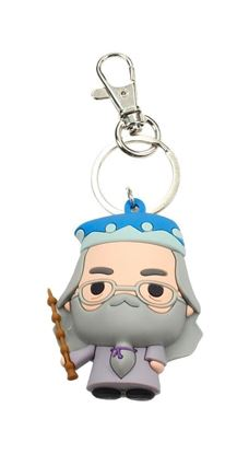 Picture of Harry Potter Llavero caucho Dumbledore 3D 7 cm