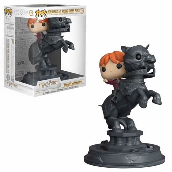 Picture of Harry Potter POP! Movie Moments Vinyl Figura Ron Riding Chess Piece 21 cm