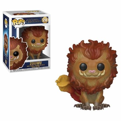 Picture of Animales fantásticos 2 Figura POP! Movies Vinyl Zouwu 9 cm